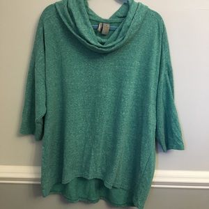 New Directions Sweater Cowl Neck